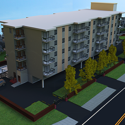 South Florida architectural rendering