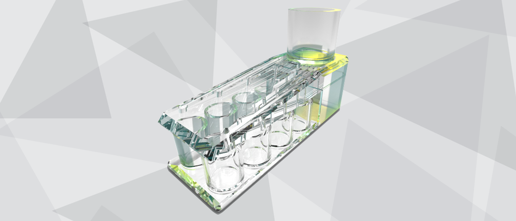 3D rendered jewish kiddush fountain prototype