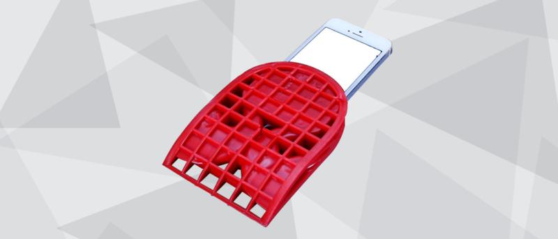 Body Glove FeetBeatz 3D printed prototype smartphone accessory