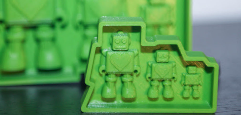 Hippiebots industrial design resin toy products mold for rapid production