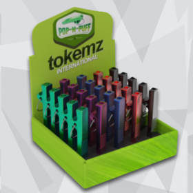 tokeez novelty smoking product packaging portfolio icon